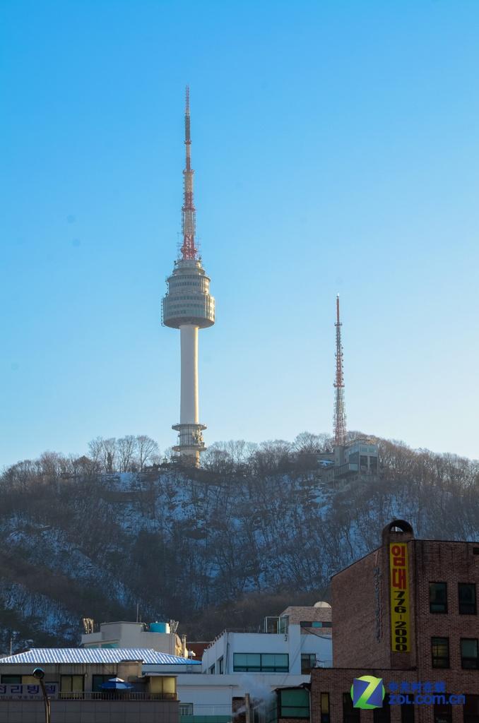 韩国首尔高高耸立的南山塔
