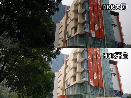 HDR样张,开启之后左侧的暗部细节提亮效果明显