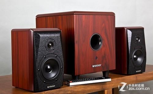 豪华实木打造 天逸新款HiFi音箱2880元
