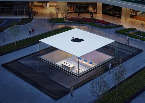 """苹果公司的""""太空船""""总部大楼由乔布斯亲自"""