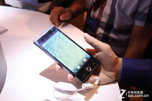 汇顶触摸式指纹识别芯片技术在深发布