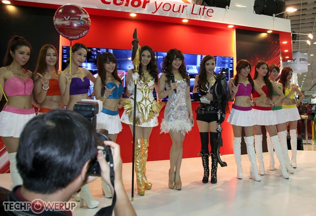 台北电脑展又一大波妹子来袭 130张ShowGirl美图一网打尽的照片 - 45