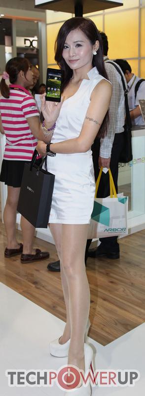 台北电脑展又一大波妹子来袭 130张ShowGirl美图一网打尽的照片 - 93