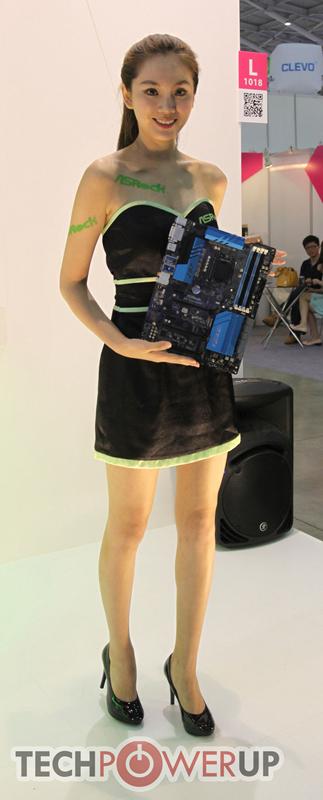 台北电脑展又一大波妹子来袭 130张ShowGirl美图一网打尽的照片 - 99