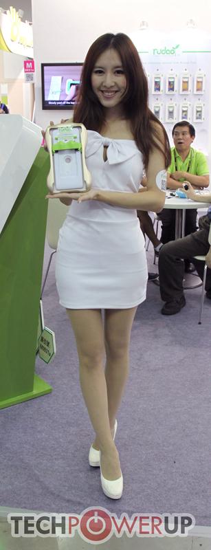 台北电脑展又一大波妹子来袭 130张ShowGirl美图一网打尽的照片 - 105