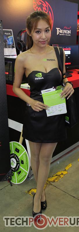 台北电脑展又一大波妹子来袭 130张ShowGirl美图一网打尽的照片 - 110