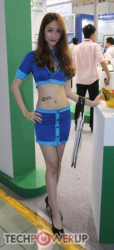 台北电脑展又一大波妹子来袭 130张ShowGirl美图一网打尽的照片 - 125