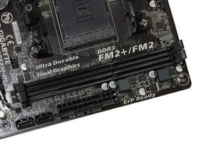 技嘉GA-F2A88XM-DS2内存插槽