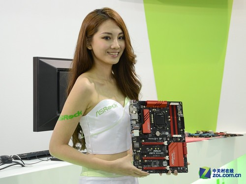 Computex 2014 诱惑嫩模图集大放送的照片 - 70