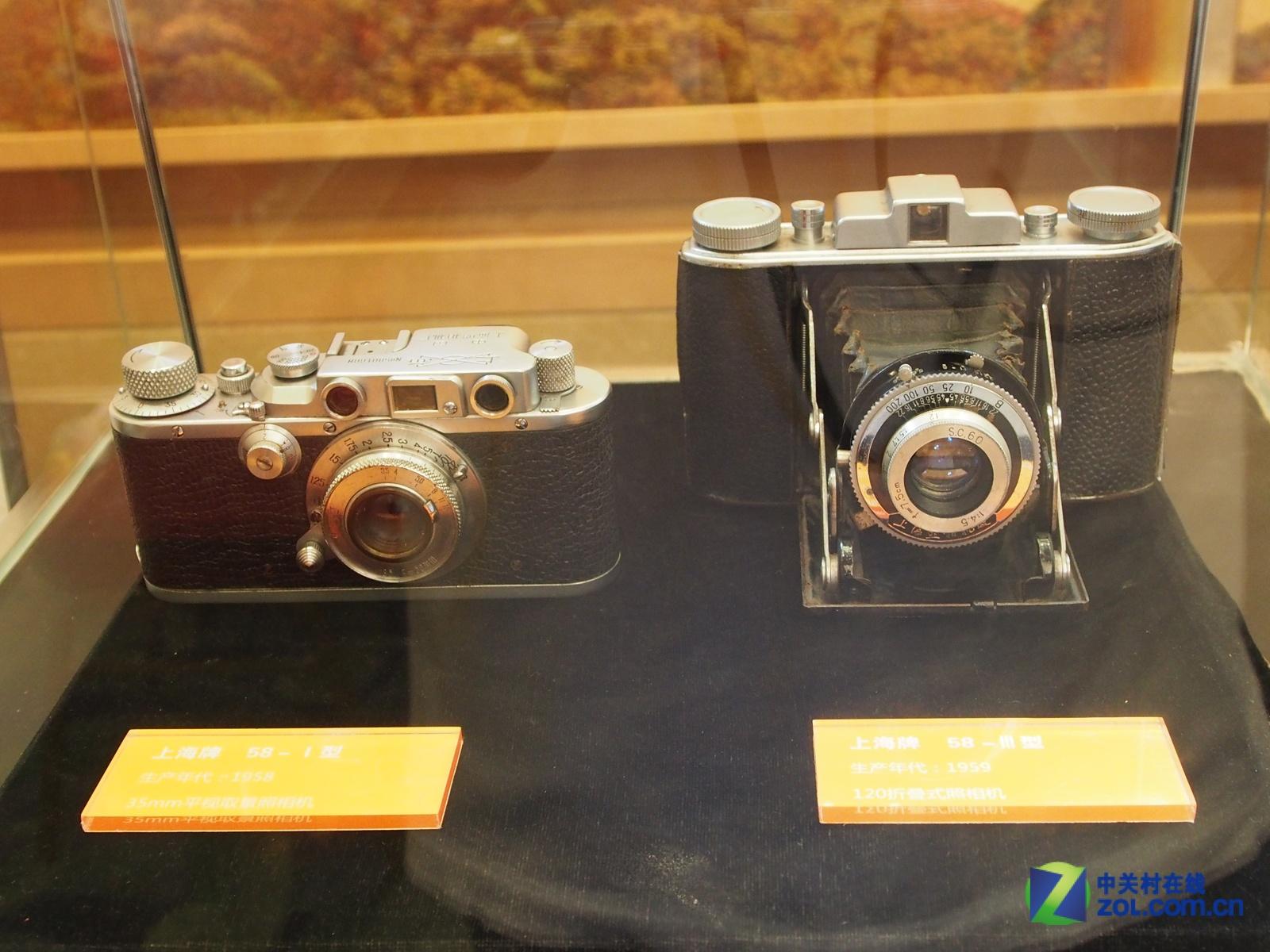历史的足迹 经典的海鸥胶片相机图赏