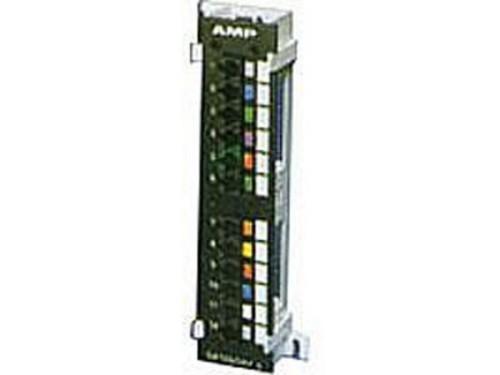 AMP超五类非屏蔽24口网络配线元