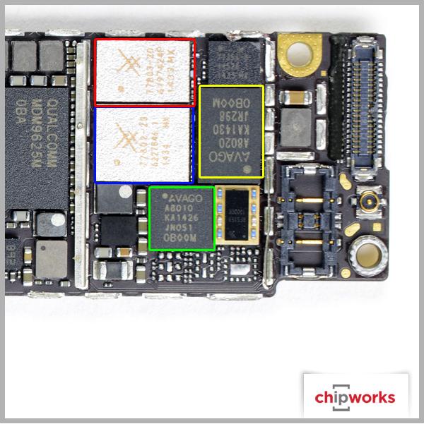 挖挖里面细节 iphone6/plus主板剖析图_苹果 iphone 6