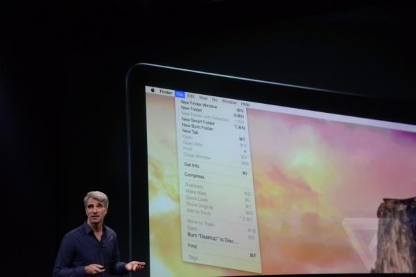 OS X Yosemite重新设计了用户界面