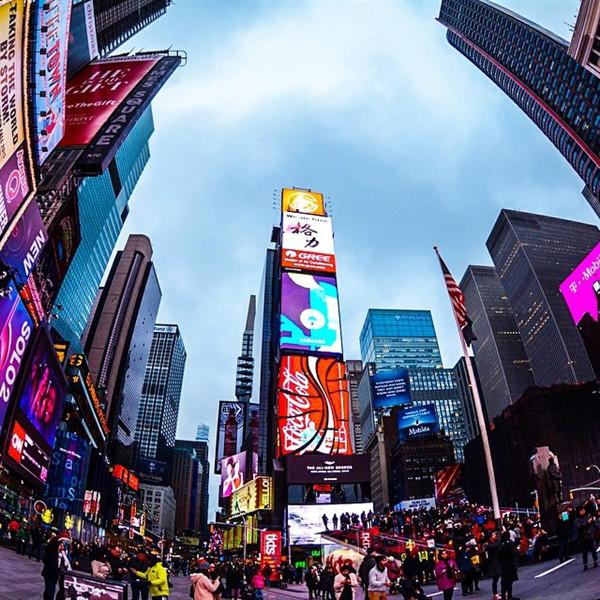 第3名——纽约时代广场