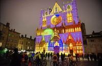 创意多彩时尚 法国里昂灯光节美景赏析