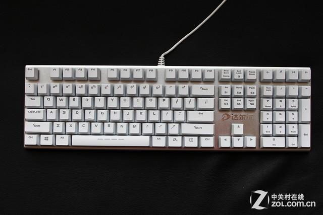达尔优机械合金版机械键盘(108键)图片