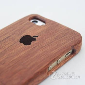 稀奇艾玛手机原木 木质雕刻 手机壳 适用于苹果5/5s 苹果