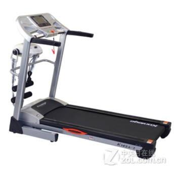 康乐佳klj-k142a多功能电动跑步机 液压折叠家用静音 室内健身图片