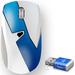 让手机免费上网的鼠标,带360随身wifi的无线鼠标(第二代,网速好,鼠标不卡) 浅蓝色 1件装