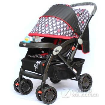骑路特婴儿推车宝宝好孩子婴儿车可坐平躺双向轻便