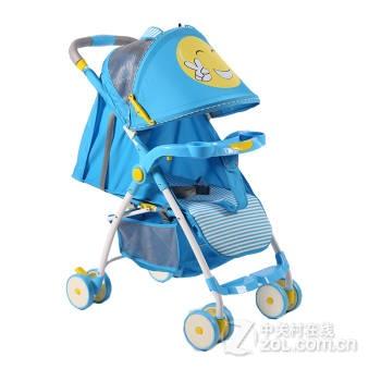 【婴儿车高景观四轮避震婴儿推车可折叠坐躺双向宝宝