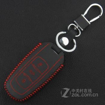 骏诺车品 吉利14款新帝豪钥匙包博瑞gc9新帝豪ec7真皮钥匙包三厢钥匙