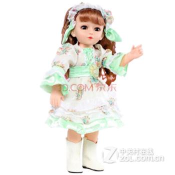 安娜公主智能娃娃會對話唱歌的芭比娃娃洋娃娃全身關節可動兒童玩具帶