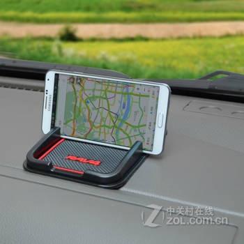 领贤 汽车专用防滑垫 多功能硅胶手机防滑垫 汽车手机导航支架 车载置
