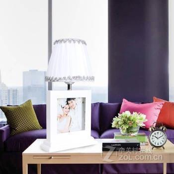 现代木艺系列相框台灯
