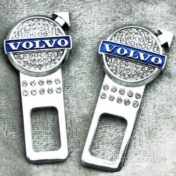 钥匙扣汽车专用安全带插扣大众 宝马车载安全带卡扣保时捷 丰田插销