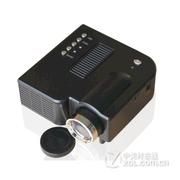 优丽可(UNIC)UC28家用LED投影仪 迷你便携微型投影仪可U盘电脑手机投影 黑色 套餐四