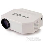 优丽可(UNIC)UC30 家用投影仪LED高清微型投影机 便携式微投短焦 白色 +1米三角架 送VGA 迷你三脚架 高清�