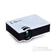 优丽可(UNIC)2015新款UC40家用LED微型投影仪连电脑U盘高清迷你便携投影机 白色(送高清线) 官方标配
