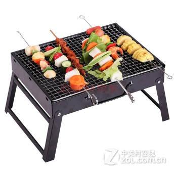 康尔kingcamp户外烧烤炉 烧烤架便携式烧烤用品 户外烤炉烤盘木炭烧烤