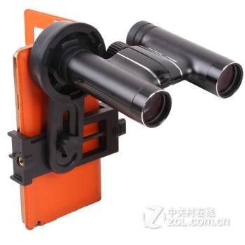 天文双筒单筒望远镜 手机通用拍摄支架拍照显微镜