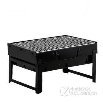 刘�:&c�yja_英爵爱户外便携折叠式烧烤炉木炭加厚烧烤架烧烤箱 yja-2折叠烤炉