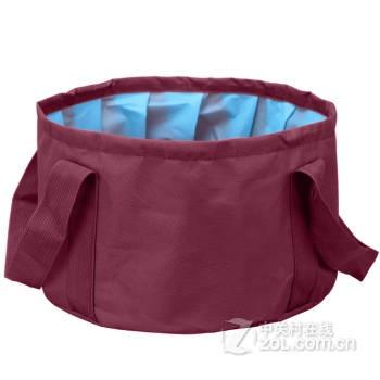 折叠水盆钓鱼桶便携式可装热水洗脸盆洗脚盆水桶户外