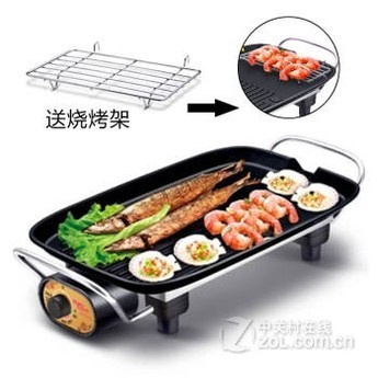 【烤盘烤肉机电烧烤炉韩国电牛排韩式家用机小学湖家咸图片