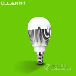 BELAN E14螺口5瓦银色 白光