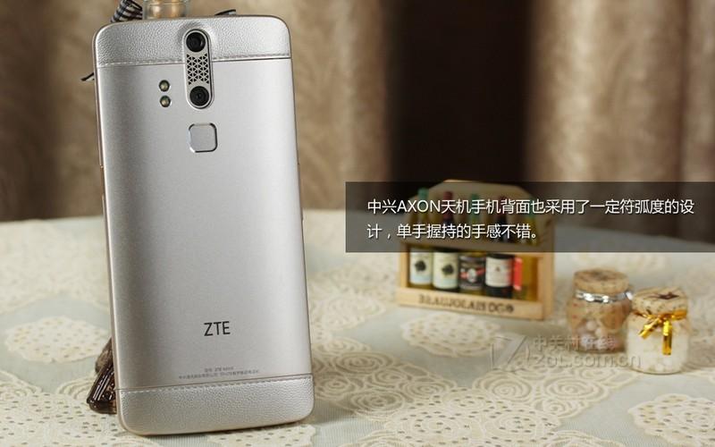 【高清图】中兴(zte)axon天机(智尊版/全网通)评测