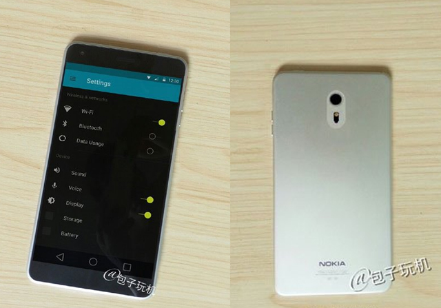 疑似诺基亚新款手机曝光 外观设计简洁 (1/1)