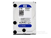西部数据 蓝盘2TB SATA6Gb/s 64M(WD20EZRZ)