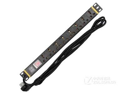 大唐保镖HP6605PDU机柜插座电源8位10A多用孔功率2500W*含税含运费