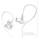 万美 Q3运动耳机 入耳式耳机 智能手机耳机 通用线控耳机防 珍珠白
