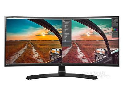 LG 34UC88 34寸 液晶显示器 4K 高清曲面屏 超窄边框 行货保证!