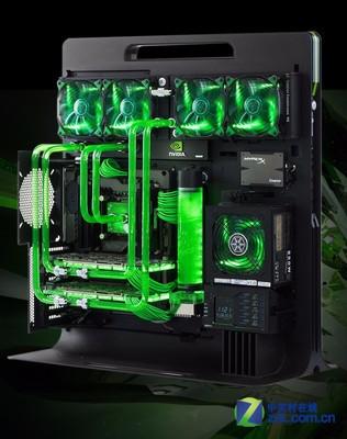 05:05 这些mod作品均采用nvidia显卡并以绿色为设计基调,作品或酷炫或