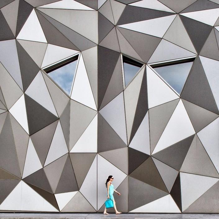 线条构成的艺术 在建筑物中寻找摄影之美