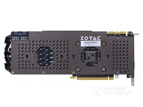 索泰GeForce GTX 1070-8GD5 至尊Plus OC背面
