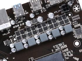 技嘉GA-990X-D3P rev.1.0供电部分