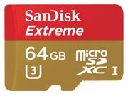 闪迪 至尊极速移动 microSDXC UHS-I U3(64GB)